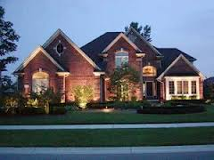 Residential landscape lighting is our specialty. We design and install energy efficient LED lighting that keeps your house safe and beautiful.