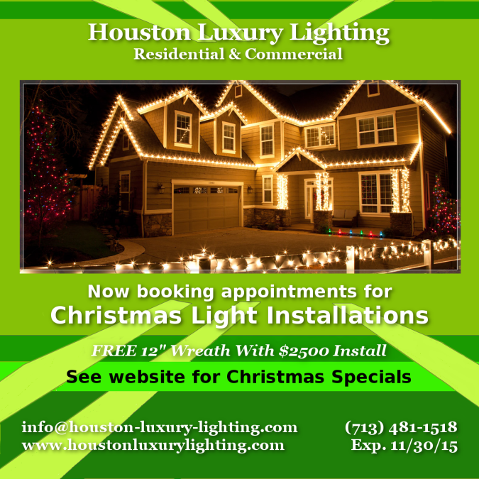 Christmas Light Installations Houston