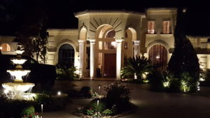 Custom Outdoor Lighting Design Installation Houston