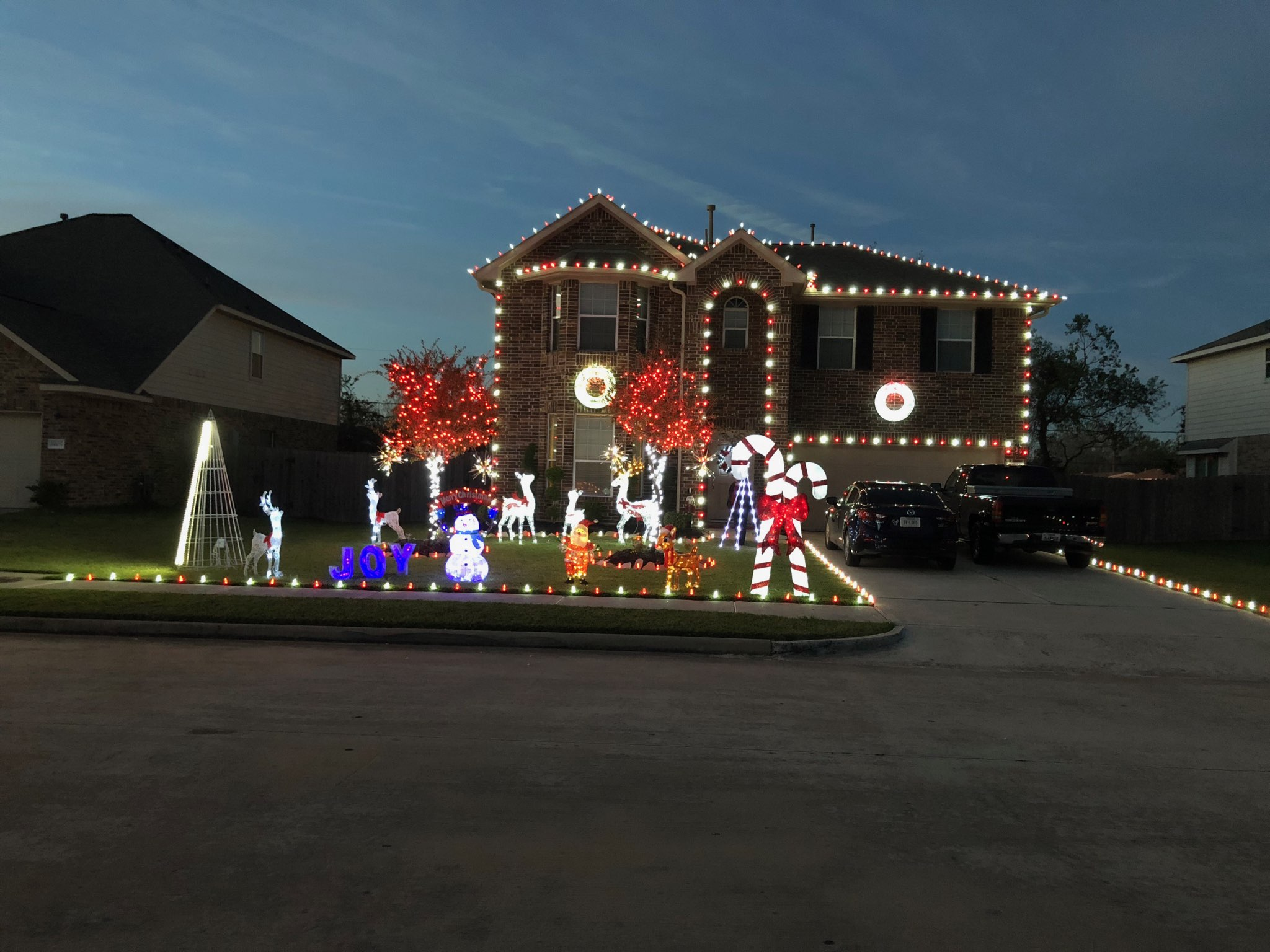 Christmas Lights Installation Houston