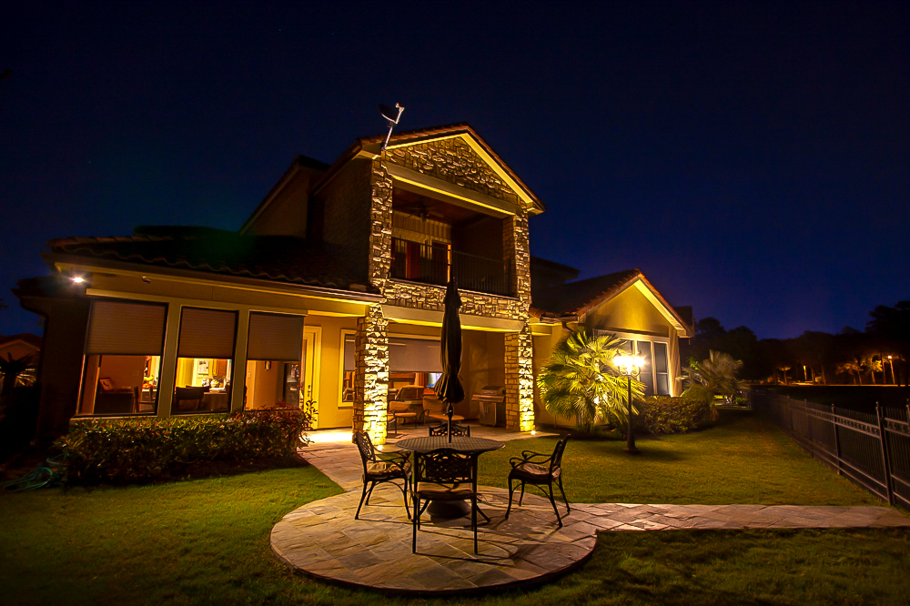 Home owners in houston and surrounding areas have trusted houston luxury lighting to install residential exterior lighting design and structural lighting on